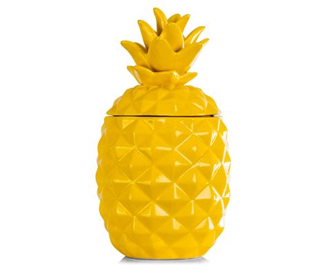 Best Kitchen Knives Australia by Catchoftheday Com Au Ceramic 37x20cm Pineapple Jar Yellow