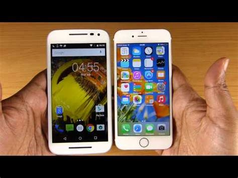 G Iphone 6 by Moto G 3rd Vs Iphone 6 Speed Test Shocking Result