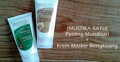Masker Peeling Mustika Ratu topic skincare mask mustika ratu with