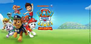 pow patrol bord g 225 is energy theatre paw patrol live race to the rescue