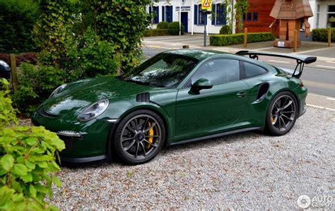 Porsche Gt3 991 by Porsche 991 Gt3 Rs 8 Mei 2017 Autogespot