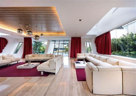 kind modern residential villa  singapore