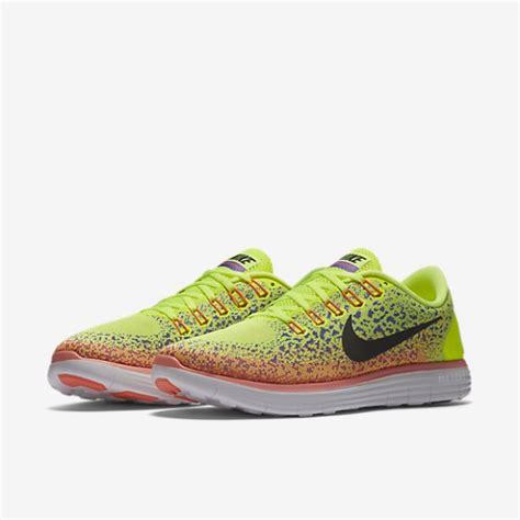 jual sepatu lari nike free rn distance yellow original