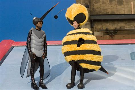 Stylefoul Jerry Seinfeld In Bee Costume by Chris Rock Dressed As A Mosquito And Jerry Seinfeld