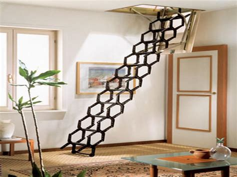 Retractable Stairs Design Retractable Stairs Design Metal Retractable Stairs Design Dzuls Interiors