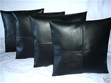 Black Leather Cushions by Auto Leather Car Seat Cover Specialists