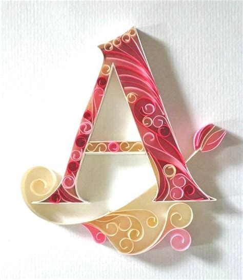 printable letters for quilling beautiful paper quilling letter patterns by sabeena karnik