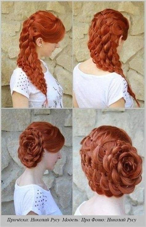 princess bun hairstyles how to hair pinterest updo www weddbook com everything about wedding braided flower