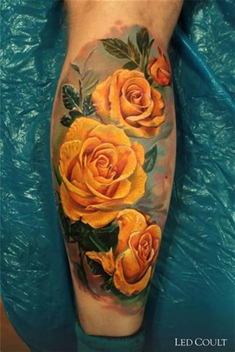 yellow rose tattoo club best 25 yellow tattoos ideas on