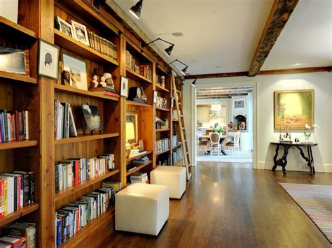 Home Library Interior Design Home Library Ladders Interior Design Ideas