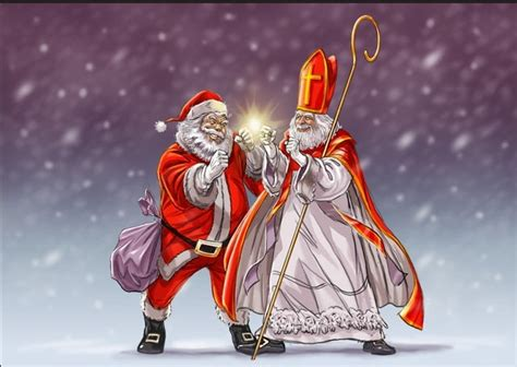 Santa Claus Sinterklas dear zwarte piet is oneika the