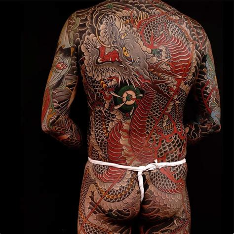 tremendous traditional japanese dragon tattoos tattoodo