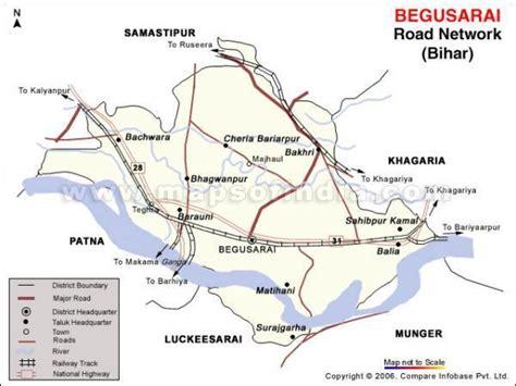 begusarai city map begusarai