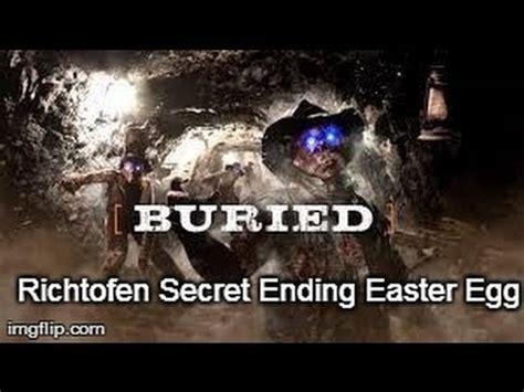 richtofen easter egg black ops 2 zombies secret buried easter egg richtofen