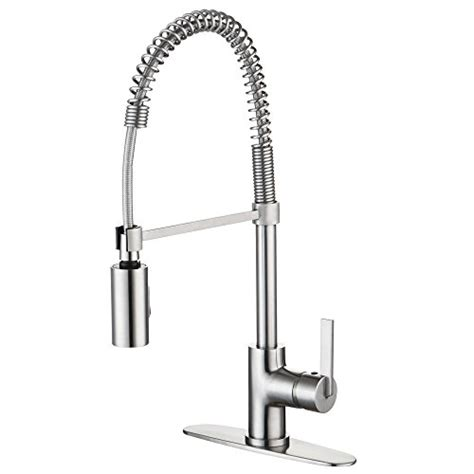 enzo rodi erf7209251ap 10 modern commercial kitchen faucets with pull down sprayer stainless