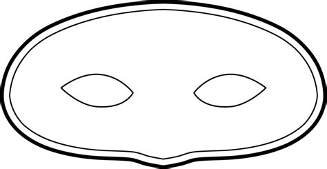 paper plate mask template doc 564684 template for mask create your own