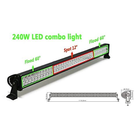 Top Led Light Bars by Top 10 Best Road Led Light Bars For Trucks Reviews