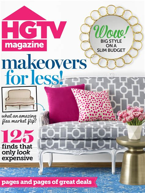 Hgtv Magazine Cover Giveaway - hgtv magazine january february 2015 hgtv