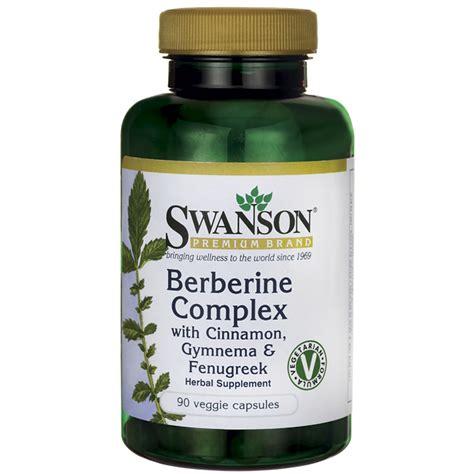 supplement berberine swanson premium berberine complex w cinnamon gymnema