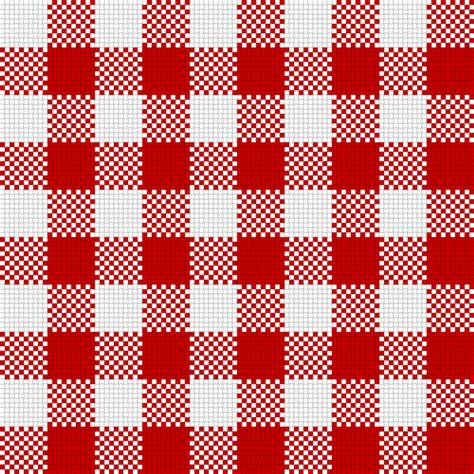 Big 4 Background Check Clipart Checker Plaid Cloth White