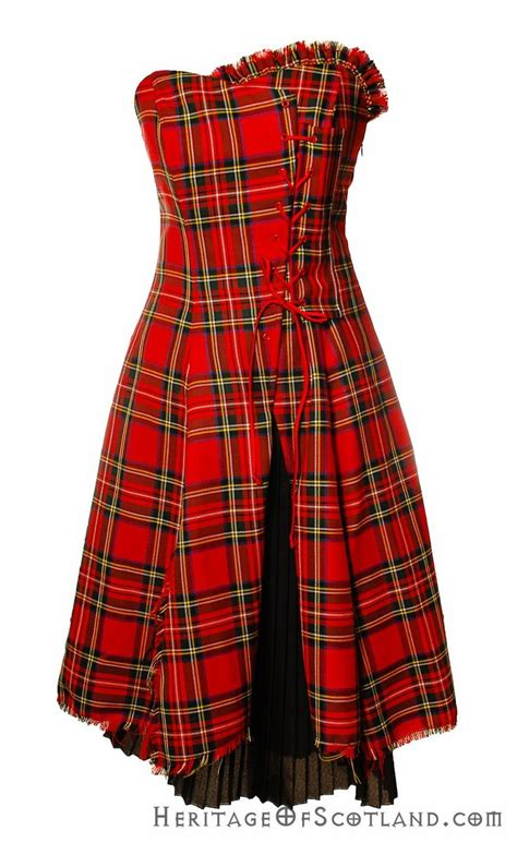 Tartan Dress 1000 images about scottish tartan corsets bustiers and dresses on tartan kilt