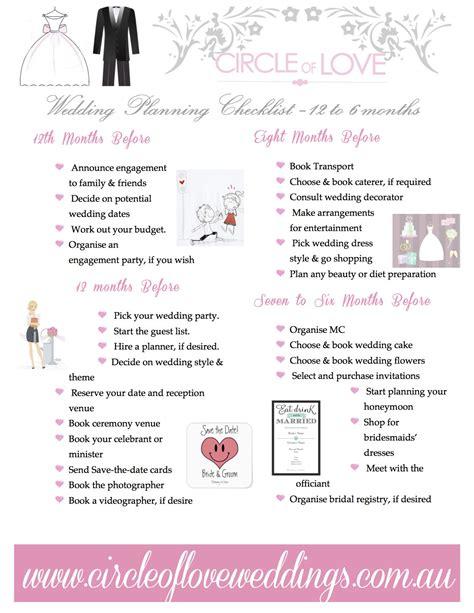 wedding 6 month checklist 6 month wedding checklist 736 x 953 free