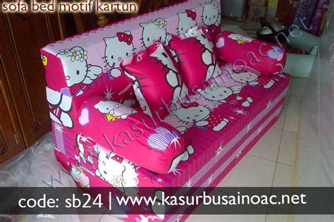 Jual Sofa Bed Hello sofa bed motif hello jual kasur busa inoac