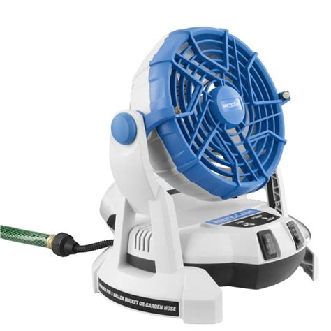 misting fan home depot 18v bucket top misting fan products arctic cove