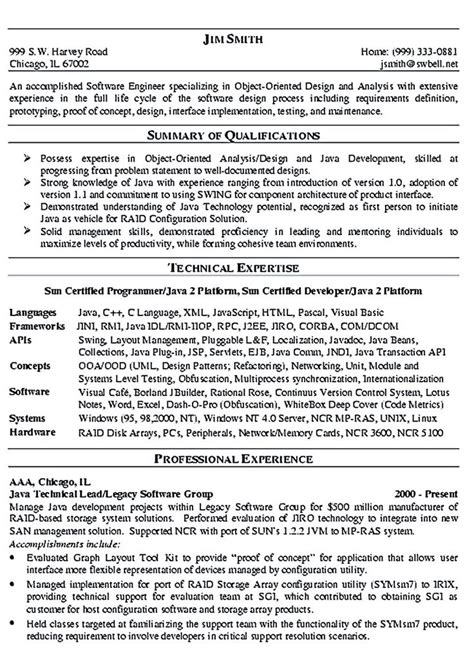Sample Resume Format For Software Engineer by 17 Best Ideas About Resume Software On Pinterest Good Cv