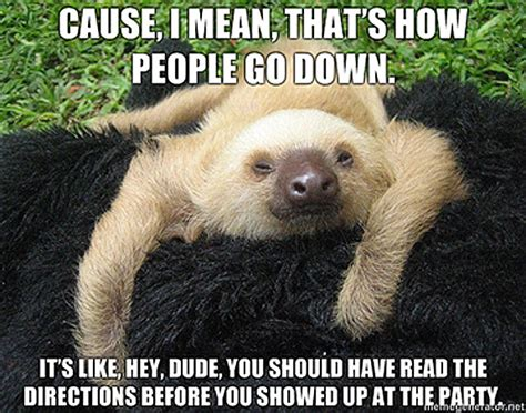 Baby Sloth Meme - winning the internet 7 charlie sheen memes we ve been