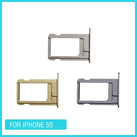 Nano Sim Card Template For Iphone 6 by Original Nano Sim Card Tray Holder Slot For Apple Iphone 5