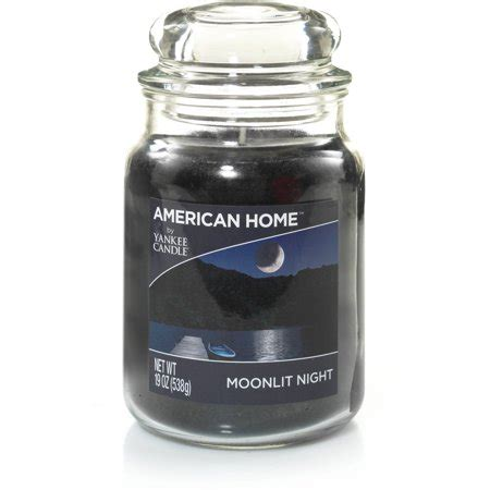 candele americane american home by yankee candle moonlit 19 oz large