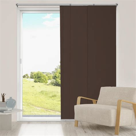room darkening vertical blinds chicology adjustable sliding panel cut to length curtain drape vertical blind thermal room