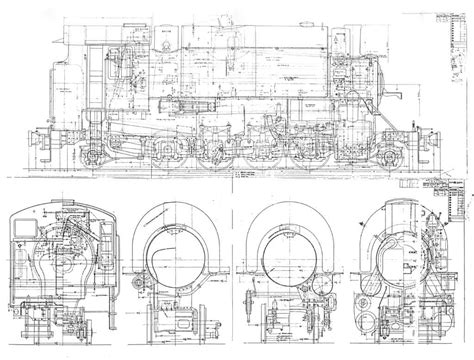 steam locomotive cab diagram erector card