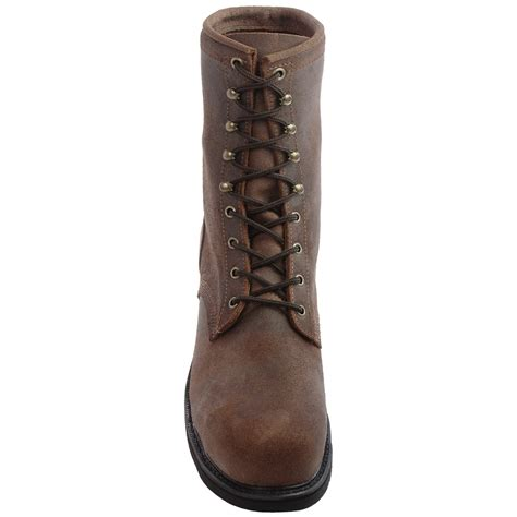 justin boots mountain leather work boots for