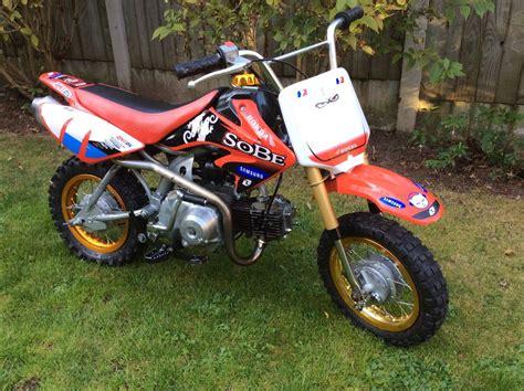 50cc motocross kids childs 50cc honda c50 crf motorbike motocross pitbike