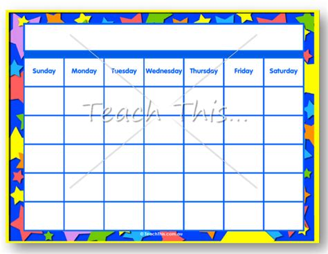 printable calendar classroom free printable ticket template clipart best