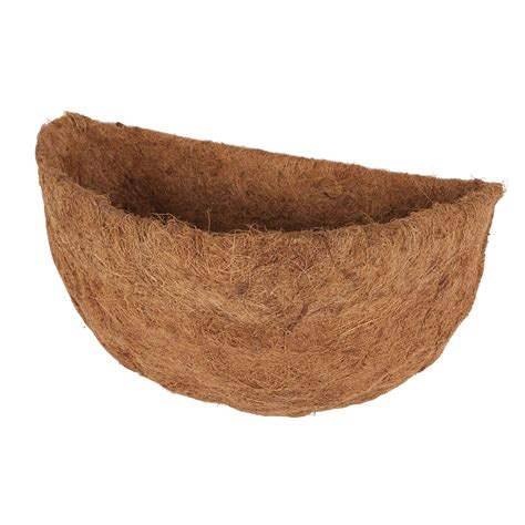 Coconut Planter Liners by Coconut Coir Basket Liners For Half Wall