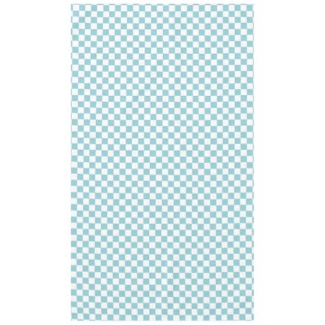 blue and white checkered squares tablecloth zazzle
