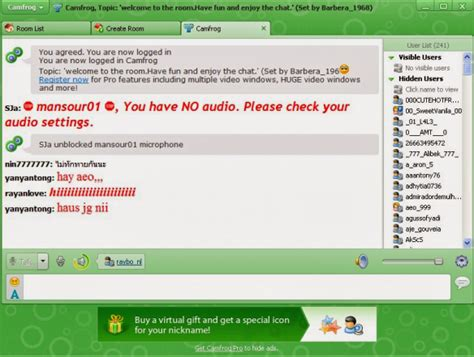 mobile camfrog camfrog chat pro free how much
