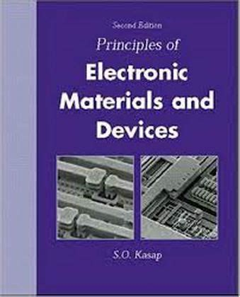 Principles Of Electronic Materials And Devices 2da