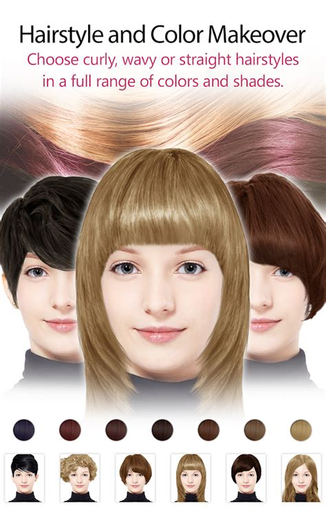 youcam hairstyles youcam makeup makeover studio android apps on google play