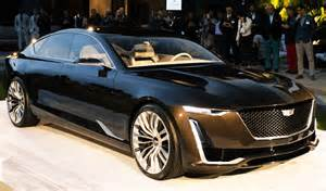 Newest Cadillac Cadillac Escala Cadillac S New Blends Comfort And