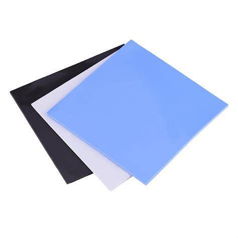 30x30x05mm Thermal Pad Cooling Silicone For Cpu Heatsink 220 100x100x2mm cpu thermal pad heatsink cooling conductive silicone pads blue gray black 3 colors