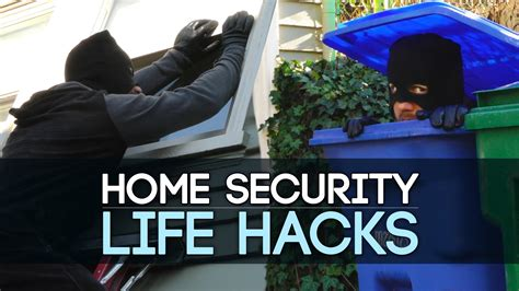 hacks for home home security life hacks youtube