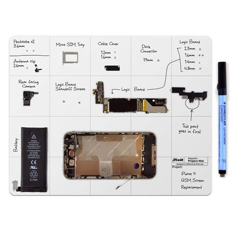 Magnetic Project Mat by Ifixit Store Europe Magnetic Project Mat Pro