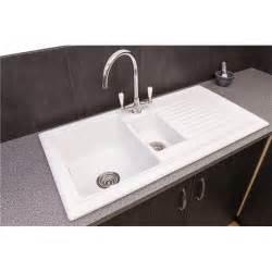 reginox rl301cw 1 5 bowl white ceramic reversible kitchen