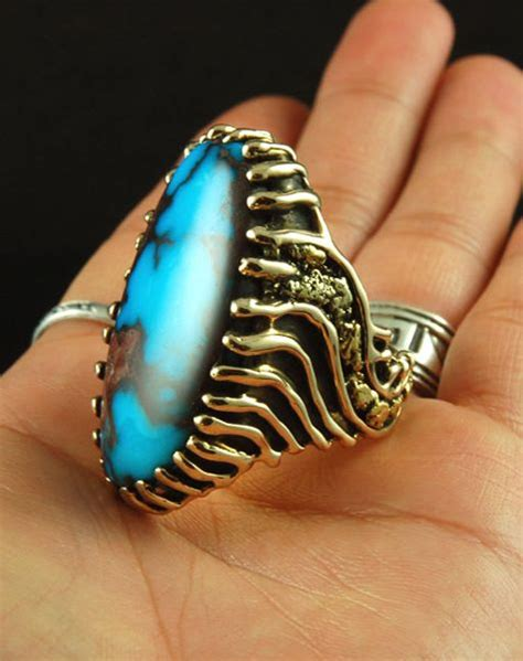17 best images about s gold turquoise rings on