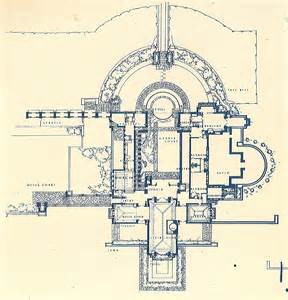 Hollyhock House Plan frank lloyd wright retourne 224 taliesin sleek design