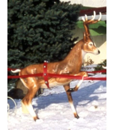 fiberglass 12 reindeer fiberglass fawn reindeer up all american co